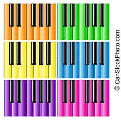 Six Classic Pianos