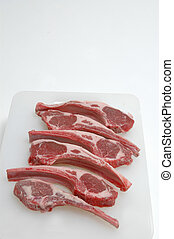 lamb chops - six gorgeous rib lamb chops