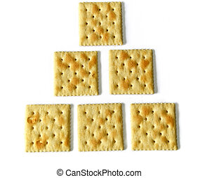 six saltine crackers