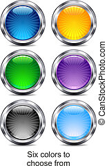 six, site web, internet, app, icônes