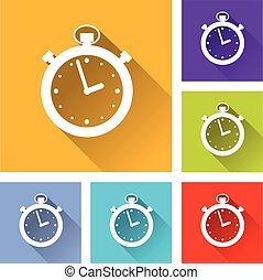 six timer icons