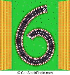 six., trilhas, espectadores, plataformas, número