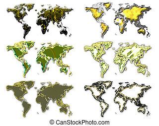 Six worlds gold