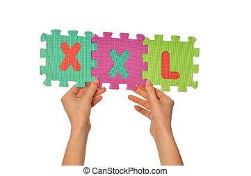 sixe, xxl