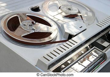 sixties tape recorder