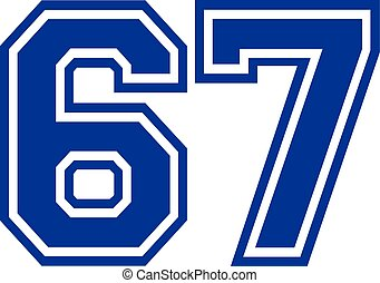 Sixty-seven college number 67