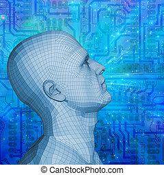 själ, teknologi