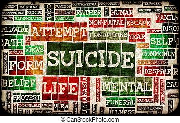 självmord