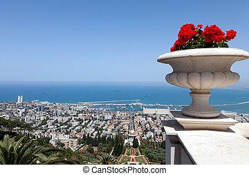 sjögång se, av, haifa, israel