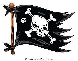 sjörövare, flagga