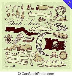 sjörövare, illustrationer