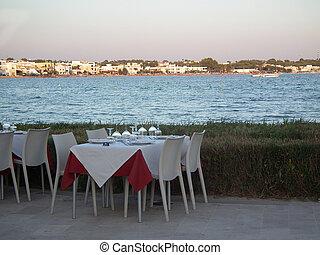 sjösida, restaurang