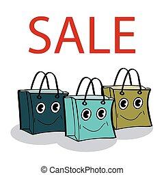 sjal, vänner, försäljning, gåva, kolli
