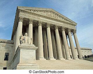 sjednocený vyjádřit, supreme court, do, washington dc