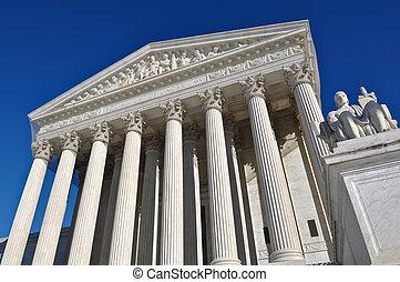 sjednocený vyjádřit supreme court, do, washington dc