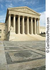 sjednocený vyjádřit supreme court, do, washington, proud jednosměrný