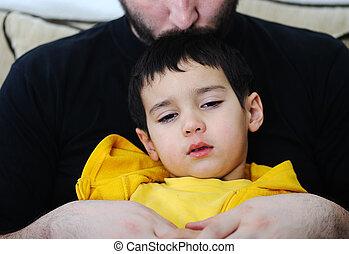 sjuk barn