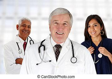 sjukhus, personal