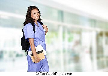 sjukvård, student