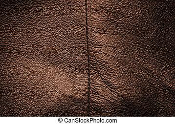 skóra, prawdziwy, struktura