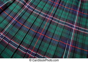 skót, tartán