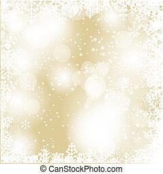 skönhet, abstrakt, bakgrund., år, färsk, jul
