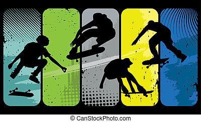 skøjteløbere
