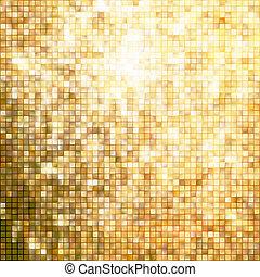 skabelon, guld, forbløffende, eps, konstruktion, 10