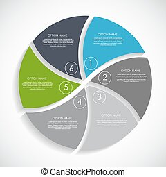 skabeloner, eps10, illustration., firma, infographic, vektor