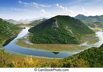 skadar, montenegro, lac