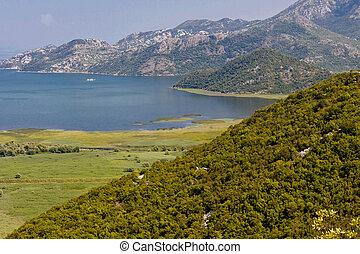 Skadarsko lake. Montenegro.