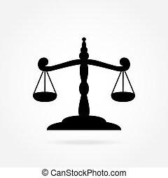 skalpy, ikona, sprawiedliwość
