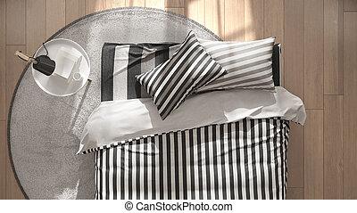 kissen seite bett ansicht kissen grafik gegenstand. Black Bedroom Furniture Sets. Home Design Ideas