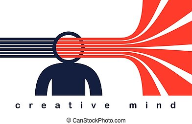 skapande, stripes, toppmodern, ute, själ, idéer, designer, ...