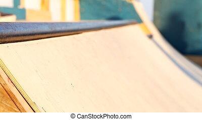 skate park, skateboarding, close-up