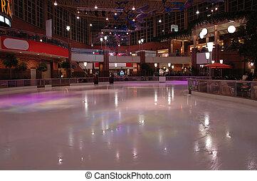 Skate rink - Indoor skate rink
