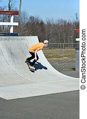 skateboard helling