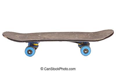 Skateboard Isolated On White