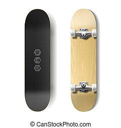 Skateboard - Photorealistic skateboard illustration