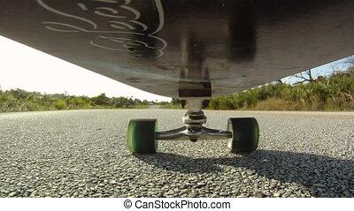 Skateboard: Point of View - skateboarding skateboarder point...