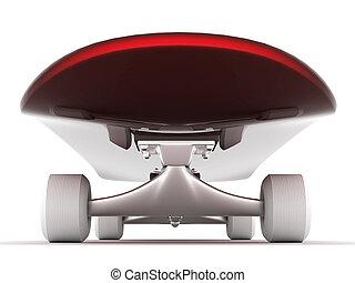 skateboard - brand new skateboard, pictured on a white...