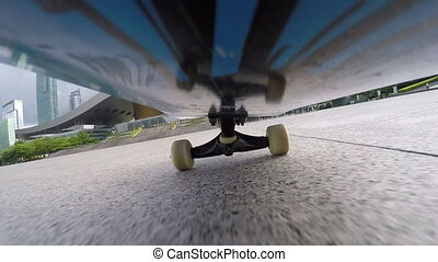 skateboarding,shot on gopro action camera