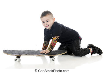 Skater in the Making