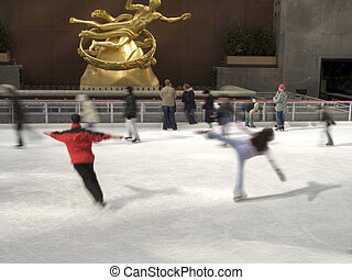 Skaters Rockefeller