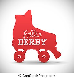 skates design. - Skates digital design, vector illustration...