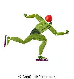 skating., スピード