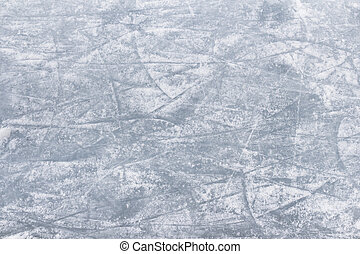 Skating rink - Rink surface abstract background with trace...