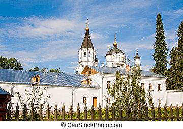 Skeet All Saints White Skit. Valaam Island Russia, Karelia