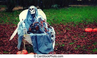 Skeleton in the Park
