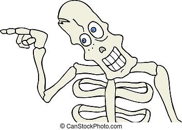Skeleton point